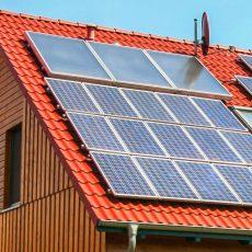 Förderung von Solaranlagen auf den Dächern ist gefragt