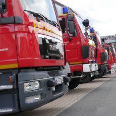 Essen brennt auf Herd: Die Feuerwehr ist im Einsatz