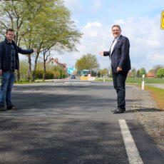 Mittelstraße in Ostermunzel wird ab Montag wieder für den Verkehr freigegeben