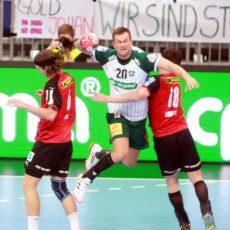 Handball: Recken und Füchse trennen sich nach giftigem Spiel remis