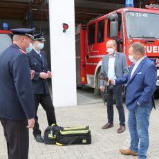 Stadtsparkasse unterstützt Barsinghausens Feuerwehr mit Wärmebildkameras