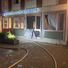 Feuerwehrbericht zur Geldautomaten-Sprengung