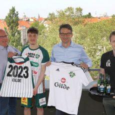 Handball: RECKEN und Jannes Krone verlängern Zusammenarbeit