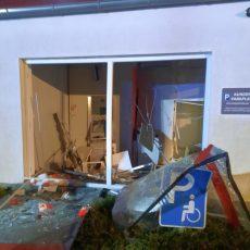Stadtsparkassenfiliale in Großgoltern wurde in der Nacht gesprengt