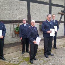 Florian von Aspern folgt als stellvertretender Ortsbrandmeister auf Marco Sammer