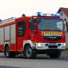 Wasser läuft durch Decke: Feuerwehr und Polizei im Einsatz