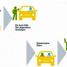 Stadtverwaltung sorgt in Sachen Mitfahrbänke für Tempo