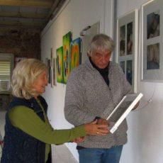 Kunstausstellungen in der Krawatte können noch bis Ende Oktober besucht werden