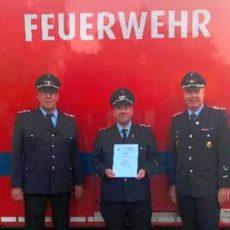 Stadtfeuerwehr: Erster Teil der Truppmann-Ausbildung erfolgreich abgeschlossen